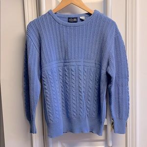 Vintage knit oversized sweater